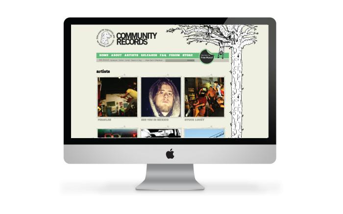 Community Records Website Redesign & Development