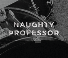 Album Artwork, Merchandise, & Web Design for Naughty Professor